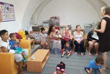 Setkání s paní logopedkou v klubu předškolního vzdělávání Pohádka v Lipníku nad Bečvou