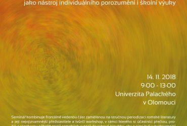 Šun, more! Poslouchej, člověče! Romská literatura v ČR v historické perspektivě, jako nástroj individuálního porozumění i školní výuky